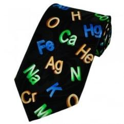 Elements & Symbols Novelty Tie