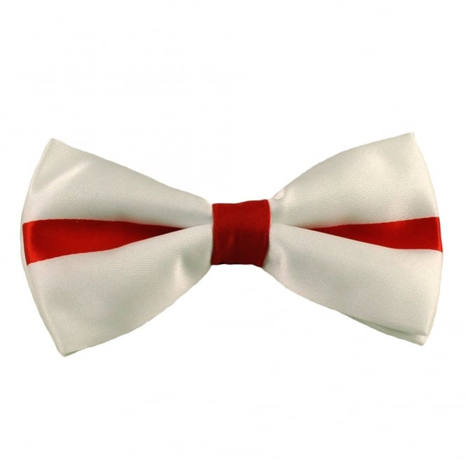11eea9022046 England Flag St George's Cross Novelty Bow Tie from Ties Planet UK