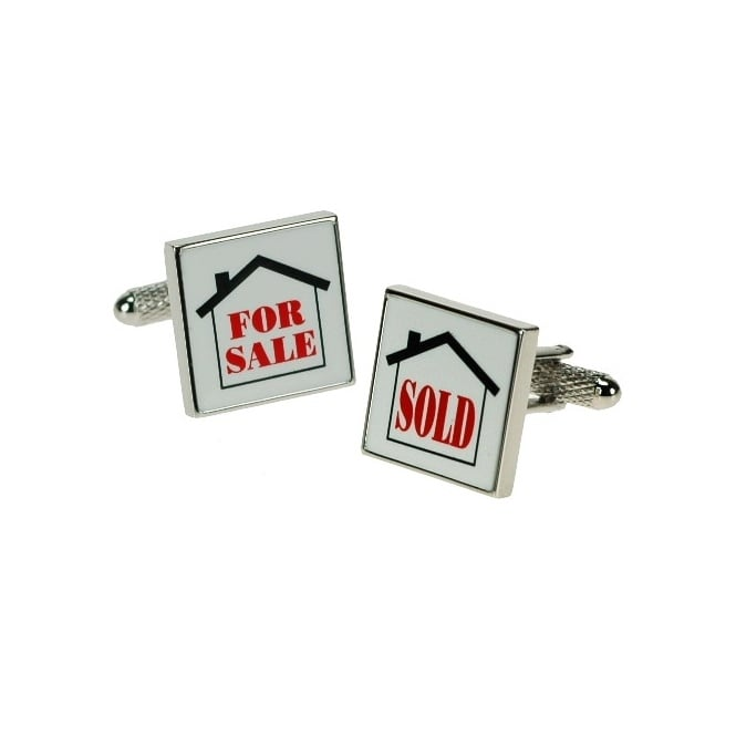 Estate Agent Cufflinks - For Sale/Sold