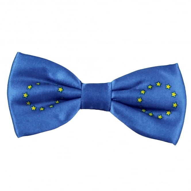 European Union EU Flag Novelty Bow Tie