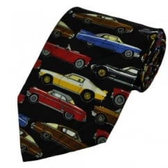 Fast Classic Cars Novelty Tie