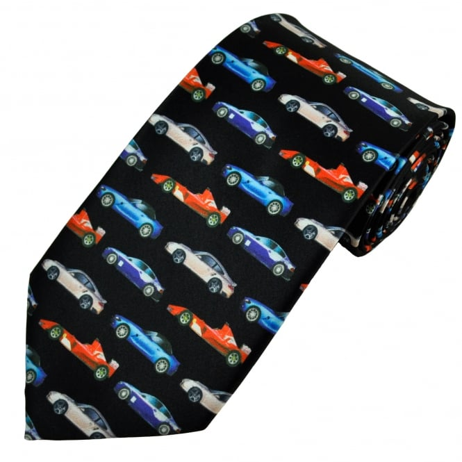 Fast Sports Cars Men's Novelty Tie