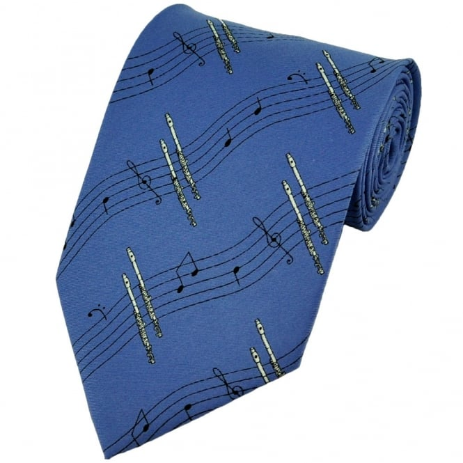 Flutes Novelty Tie