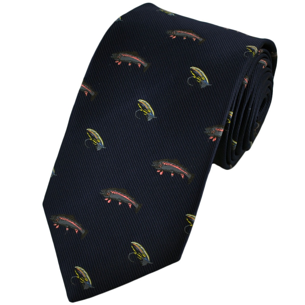 fly fishing tie from ties planet uk