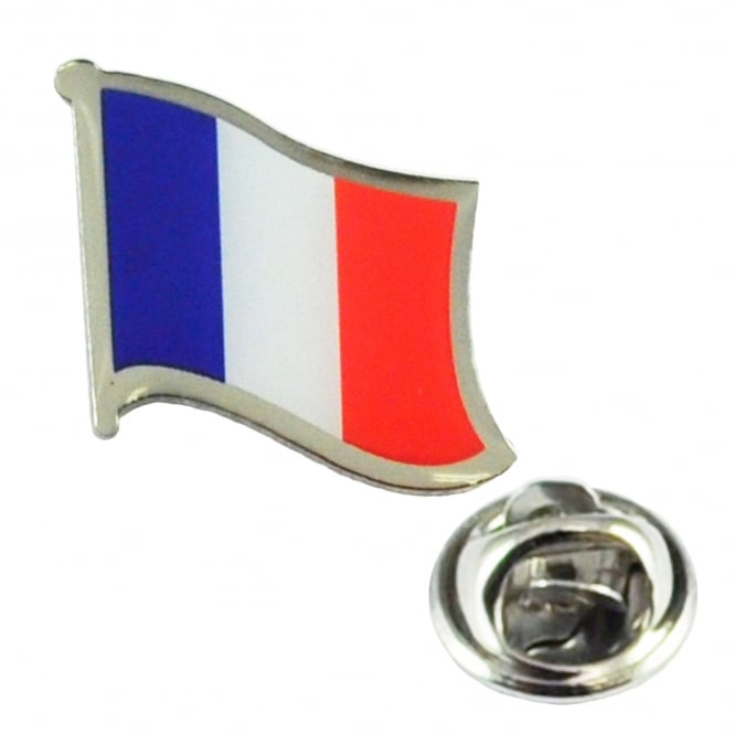 Special Occasions|Tiepins France Flag Lapel Pin Badge