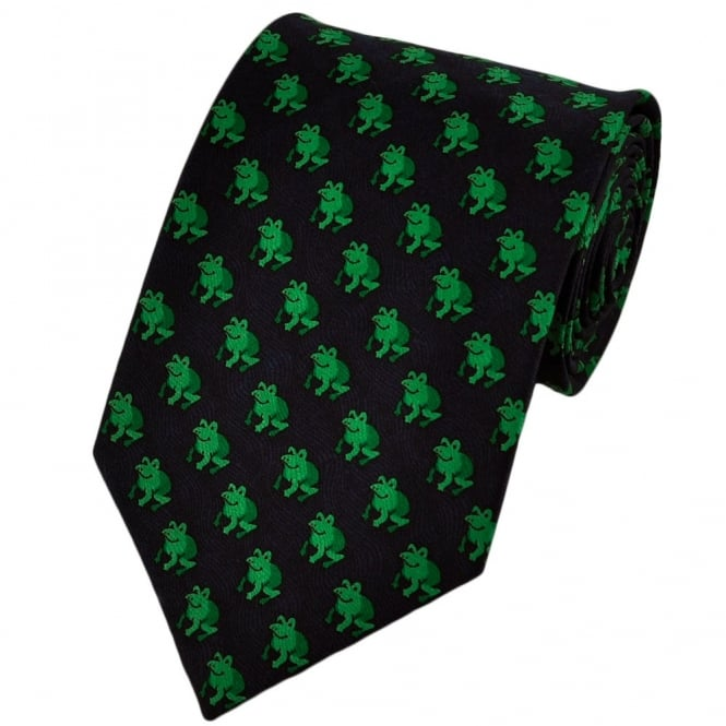 Frogs Novelty Tie