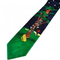 Frustrated Golfer Funny Novelty Tie