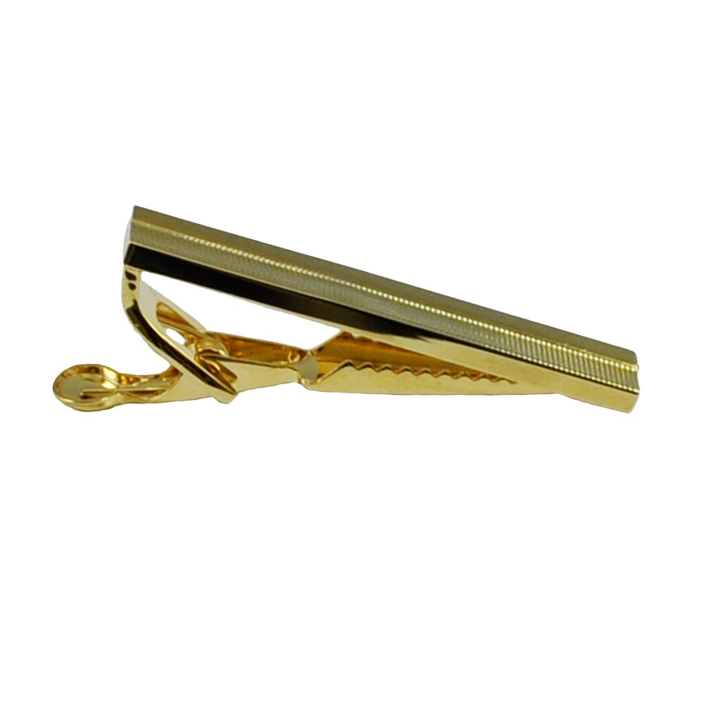 gold tie bar 43mm from ties planet uk