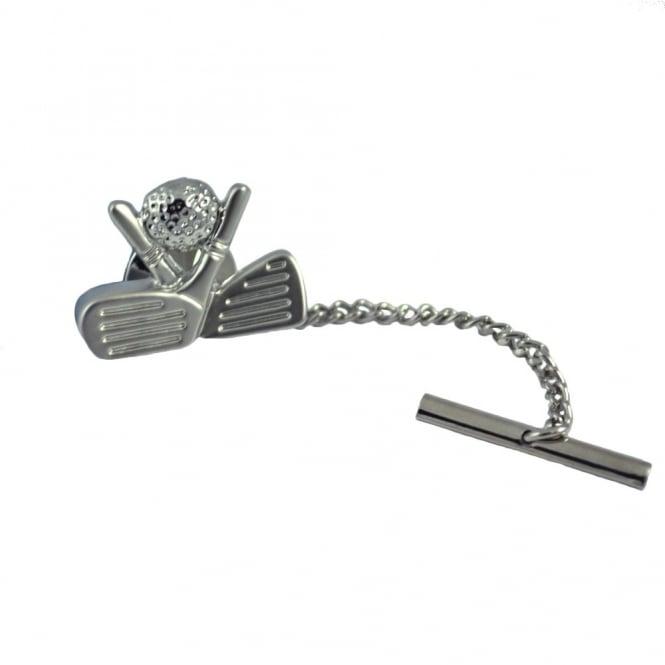 Golf Clubs & Ball Tie Pin