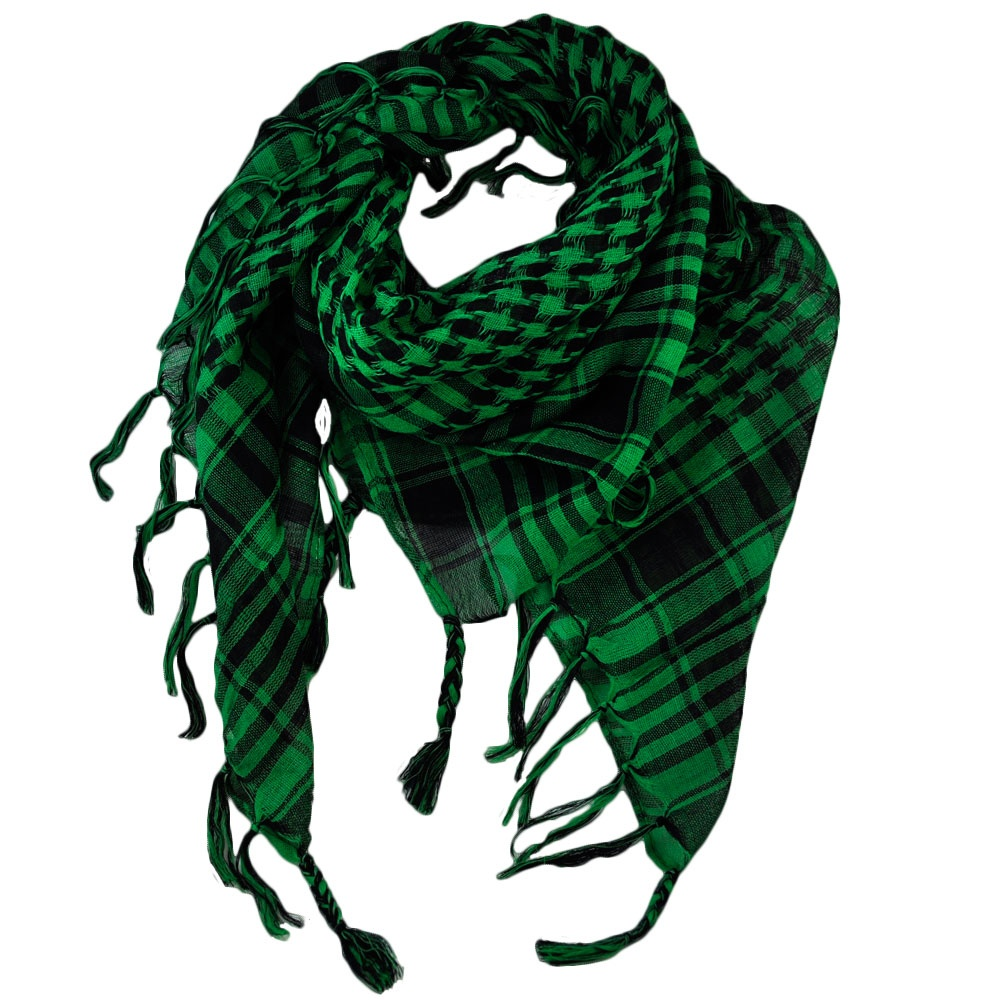 green black shemagh arab fashion scarf from ties planet uk