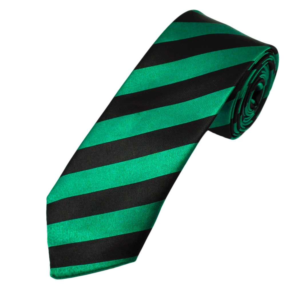 green black thin striped tie from ties planet uk