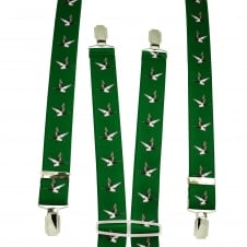 Green Flying Duck Men's Trouser Braces