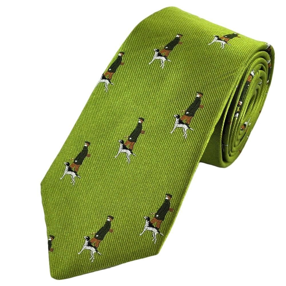 Ties › Country Ties › Ties Planet › Green Huntsman with Dog ...