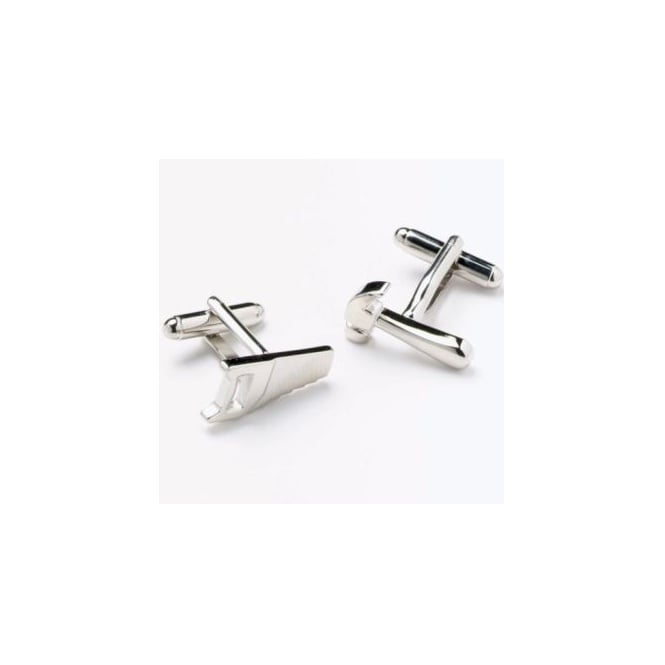 Hammer & Saw Novelty Cufflinks