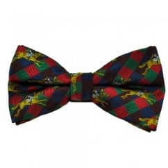Harlequin Horse Race Novelty Bow Tie