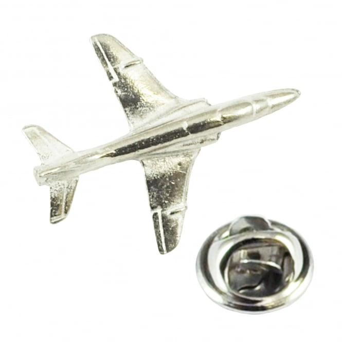 Hawk Aircraft Plane Pewter English Made Lapel Pin Badge