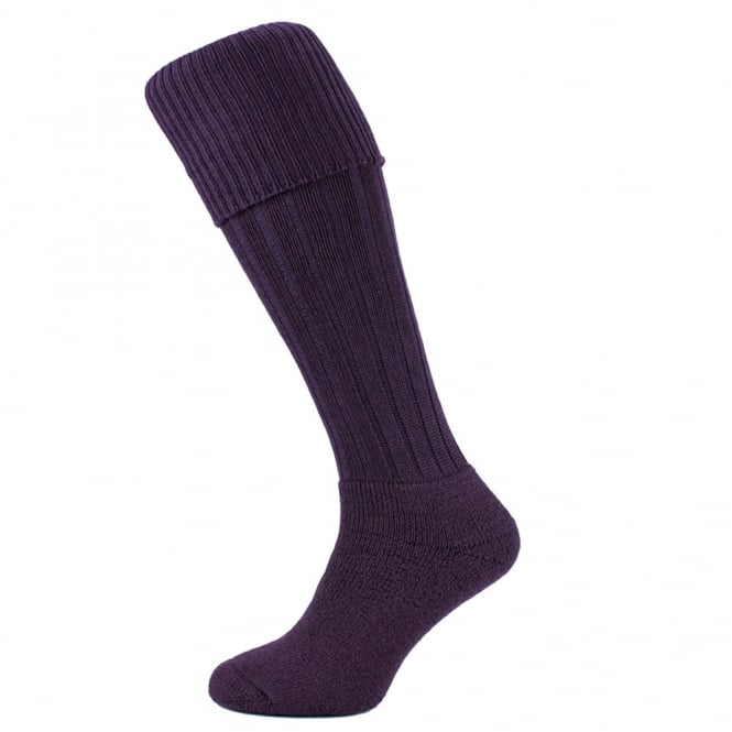 HJ Hall Heather Cushion Foot Merino Wool Blend Men's Shooting Socks