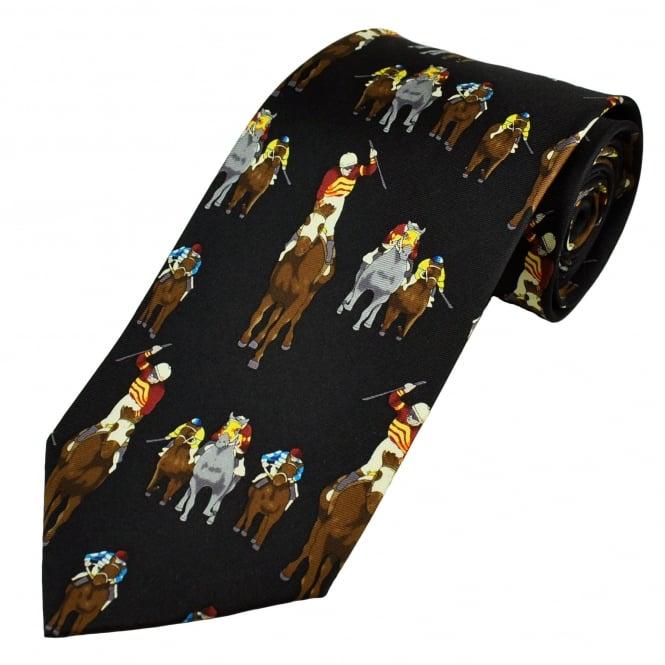 Horse Racing Winner Silk Novelty Tie