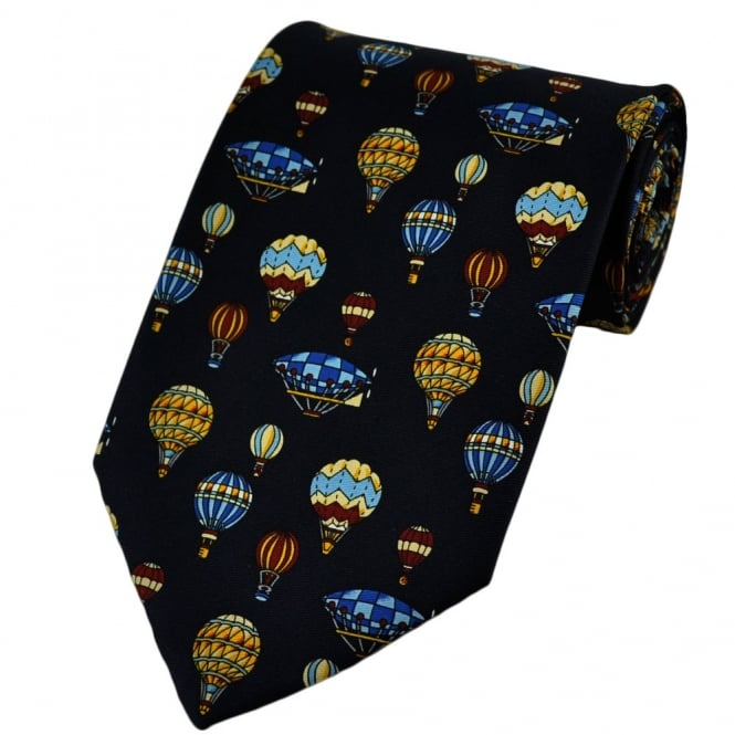 Hot Air Balloons Novelty Tie