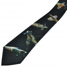 Hurricane Fighter Planes Men's Tie