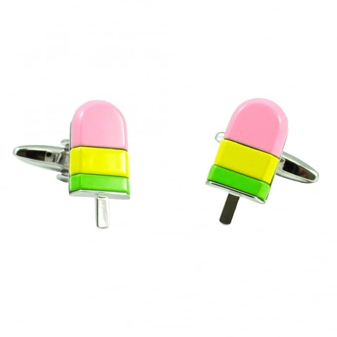 Ice Lolly Novelty Cufflinks