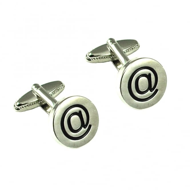 Internet @ Sign Novelty Cufflinks