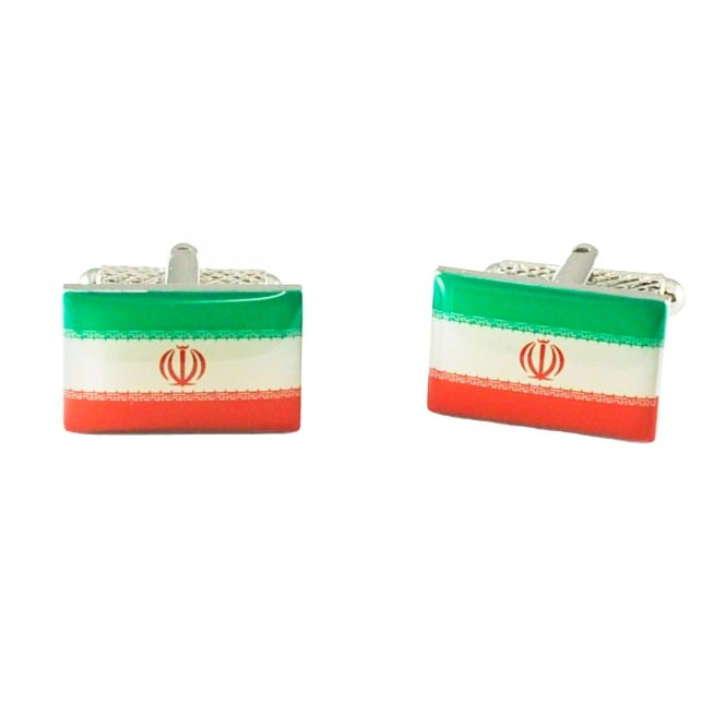 Iran Flag Cufflinks