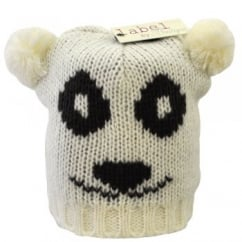Ivory Teddy Bear Animal Hat