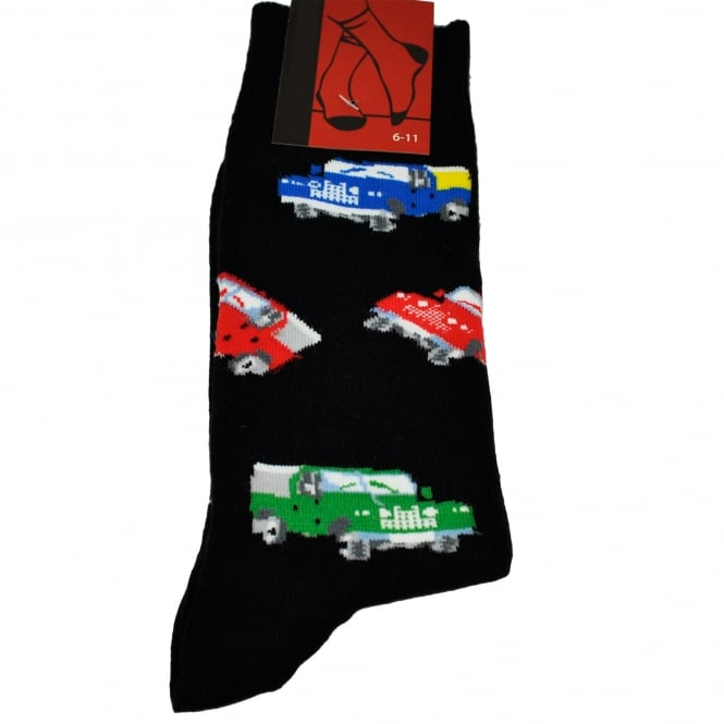 Jeep Black Men's Novelty Socks