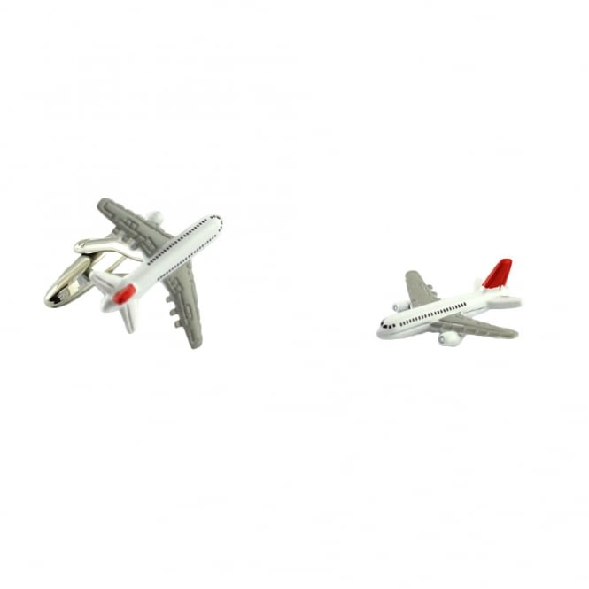 Jumbo Jet Novelty Cufflinks