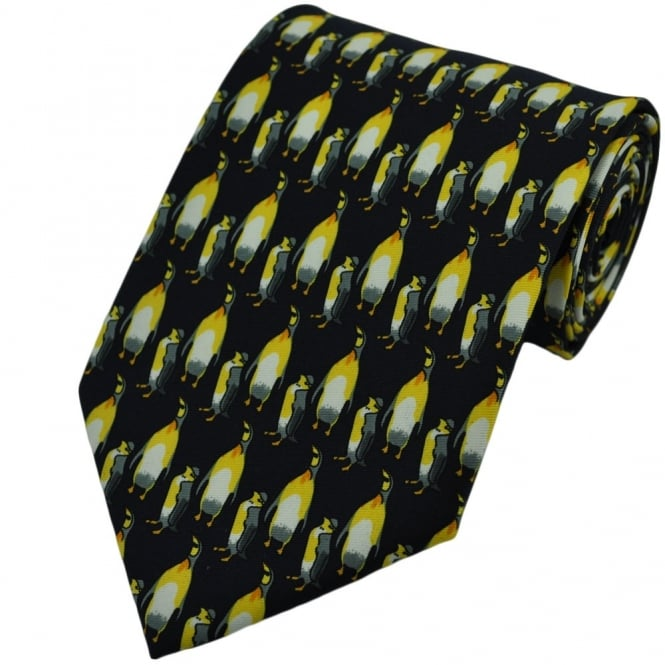 King Penguins Novelty Tie