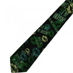 Kiss Me I'm Irish St. Patrick's Day Novelty Tie