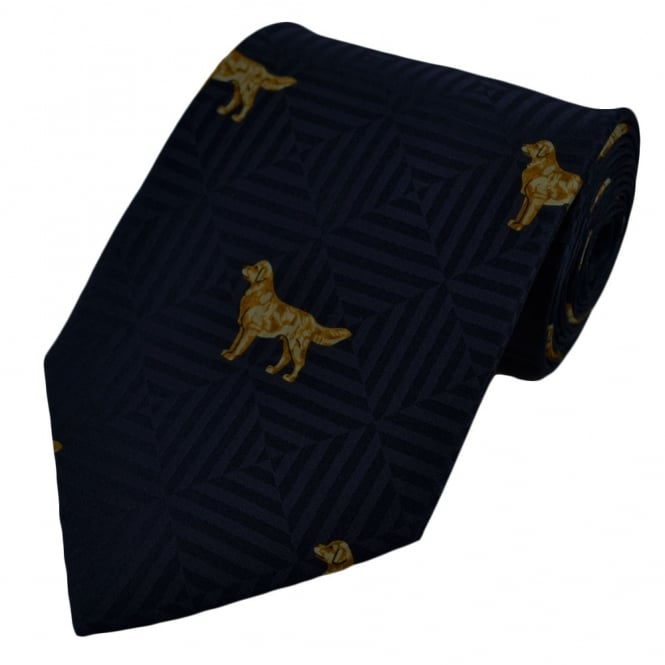 Labrador Dogs Silk Novelty Tie
