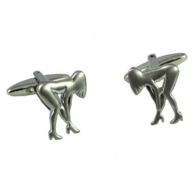 Lady Silhouette Cufflinks