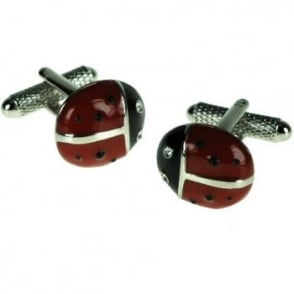 Ladybird Novelty Cufflinks