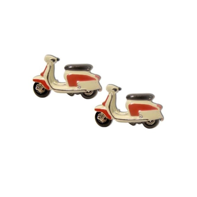 Lambretta Scooter Novelty Cufflinks