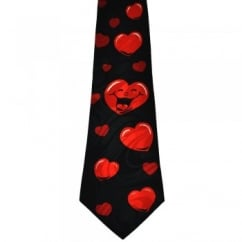 Laughing Hearts Novelty Tie