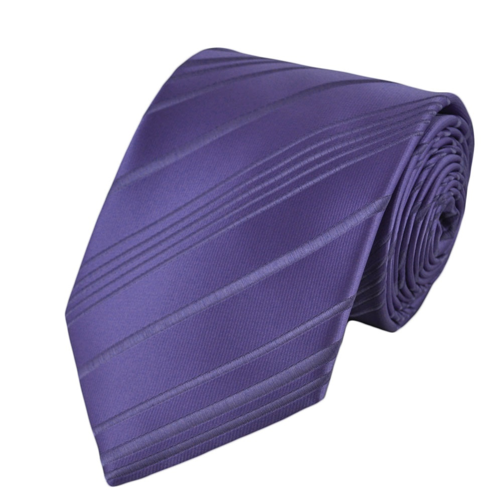 lavender ribbed striped design tie from ties planet uk