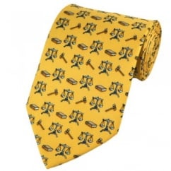 Law Scales Novelty Tie