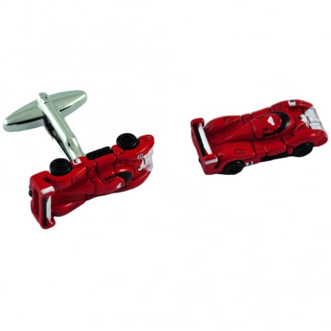 Click to view product details and reviews for Le Mans Red Racing Car Cufflinks.