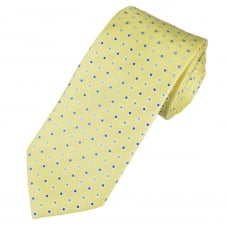 Lemon Yellow Polka Dot Men's Tie