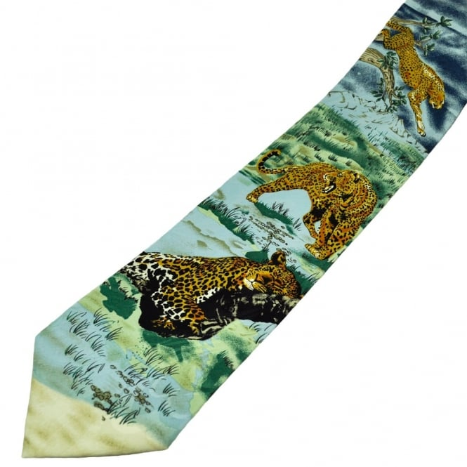 Leopard Men's Novelty Tie