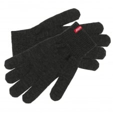 Levi's Ben Dark Grey Touch Screen Gloves