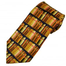 Library Books Silk Novelty Tie