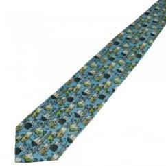 Light Blue Chemistry Novelty Tie