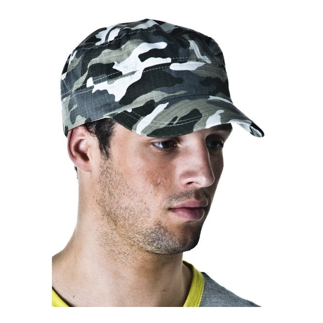 Light Camouflage Army Cap