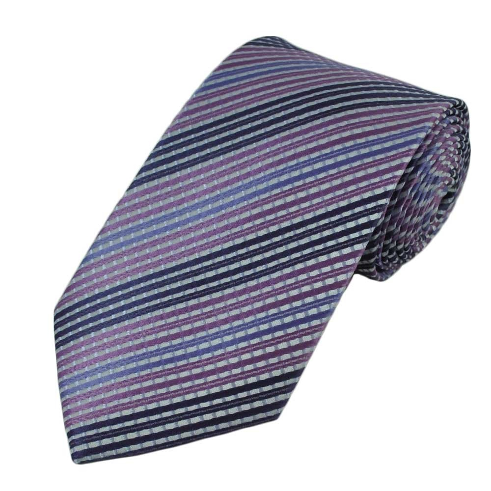 lilac lavender violet striped tie from ties planet uk