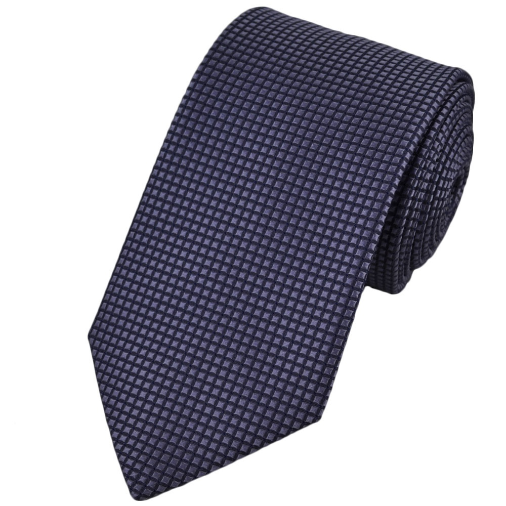 lilac micro checked silk tie from ties planet uk