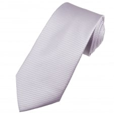 Lilac Self Patterned Men's Extra Long Tie