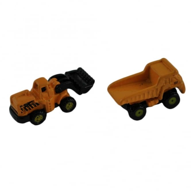 Lorry and Digger Novelty Cufflinks